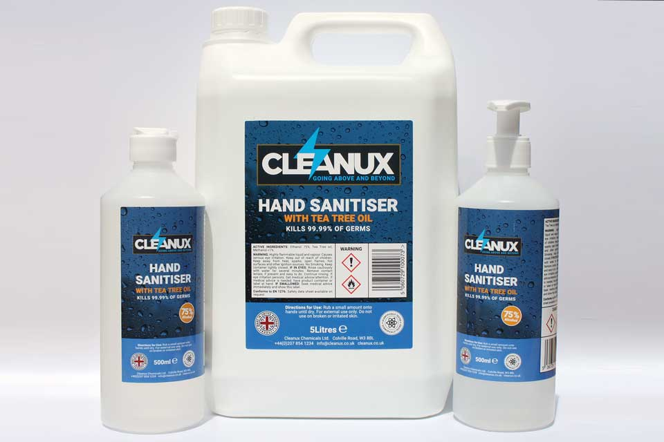 Cleanux Hand Sanitiser
