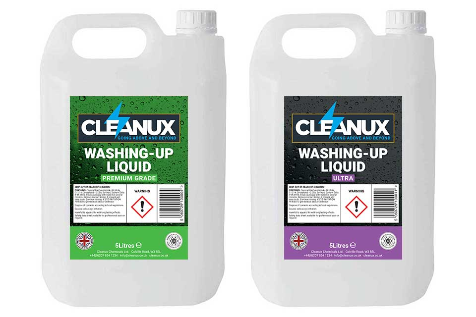 Cleanux Washing Up Liquid