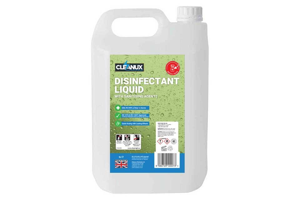 Cleanux Disinfectant Liquid