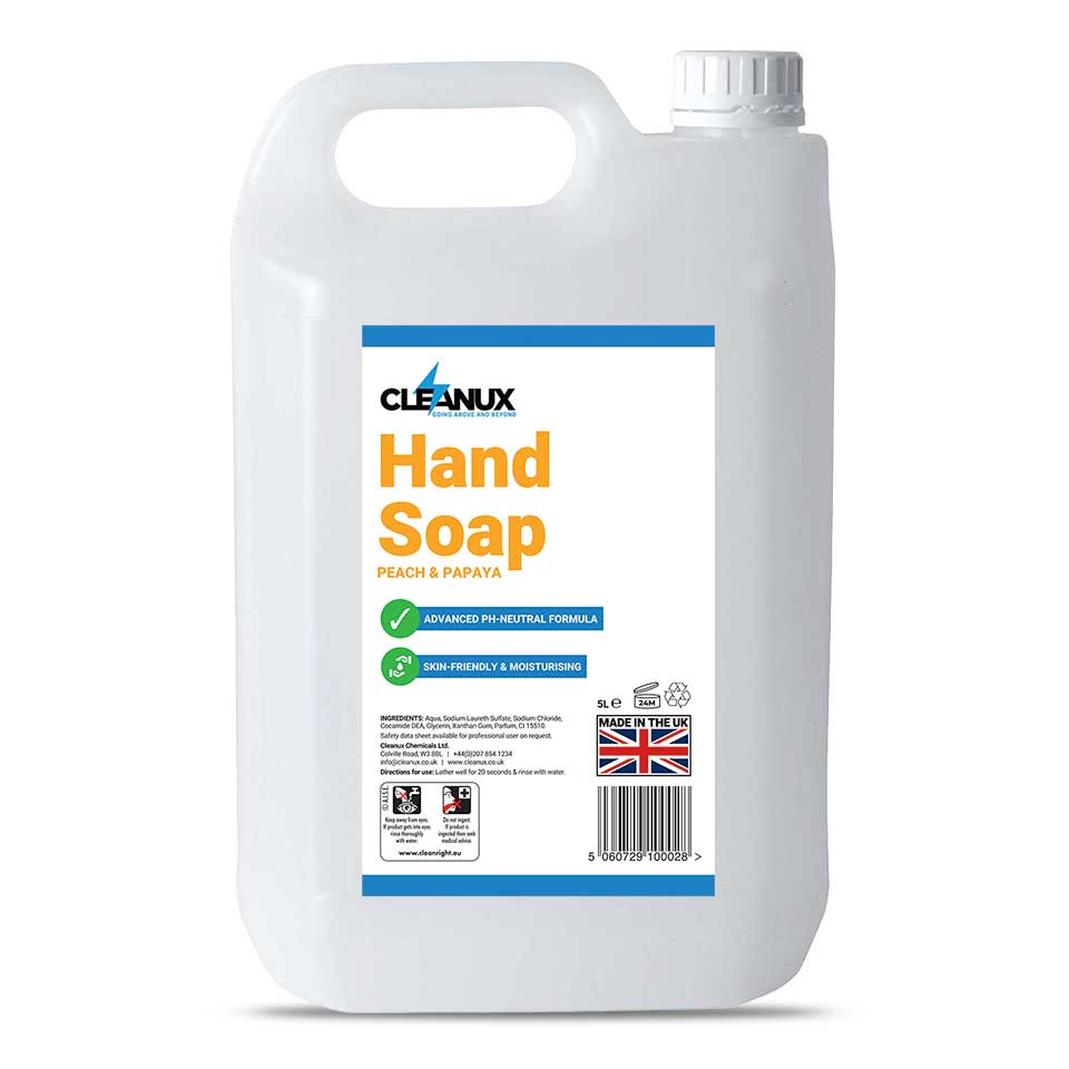 Cleanux Liquid Hand Soap