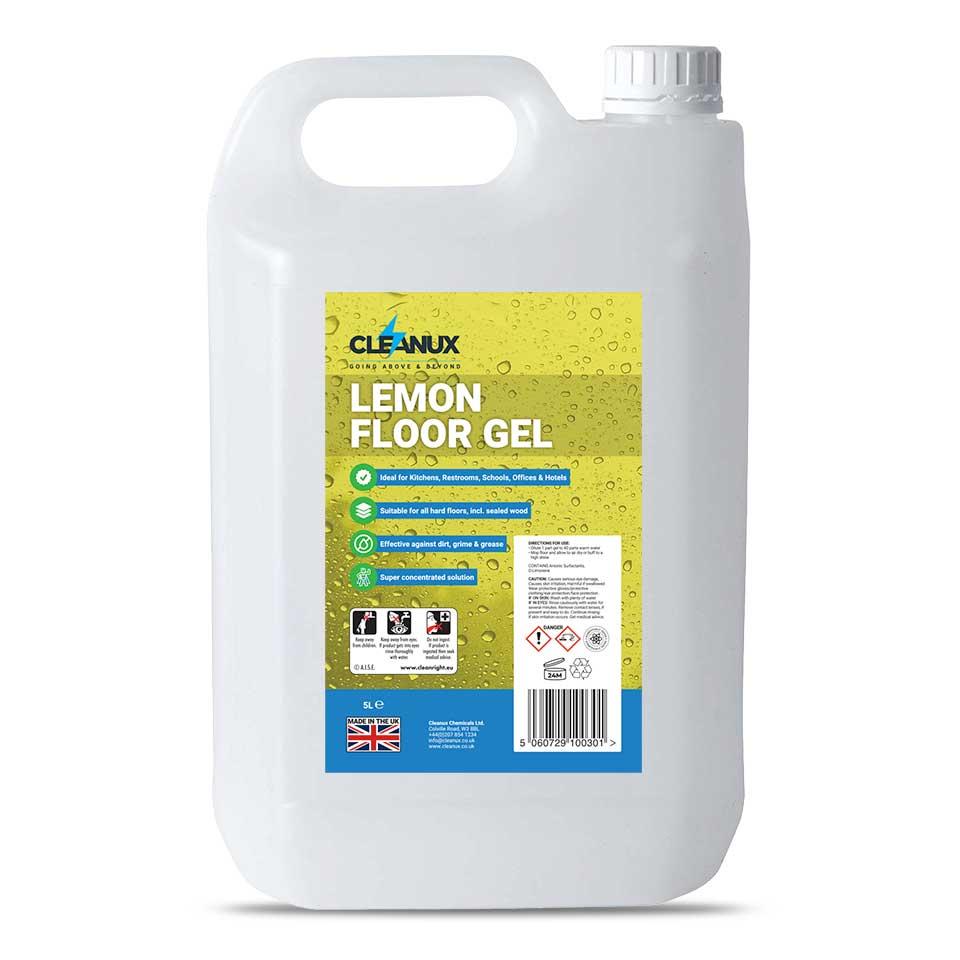 Cleanux Lemon Floor Gel